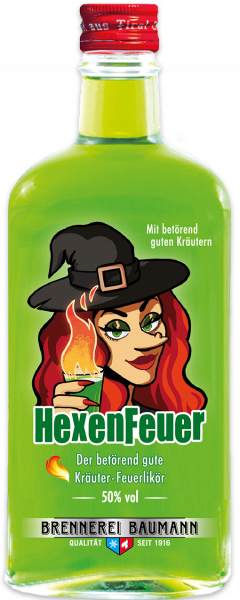 Wicht Fire Liqueur from the Tiroler Kräuterdestillerie