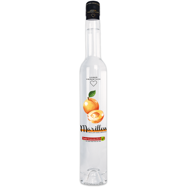 Apricot brandy from the Tiroler Kräuterdestillerie